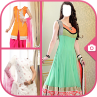 Salwar Suit Photo Making