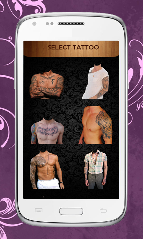 Android Tattoo Design Editor