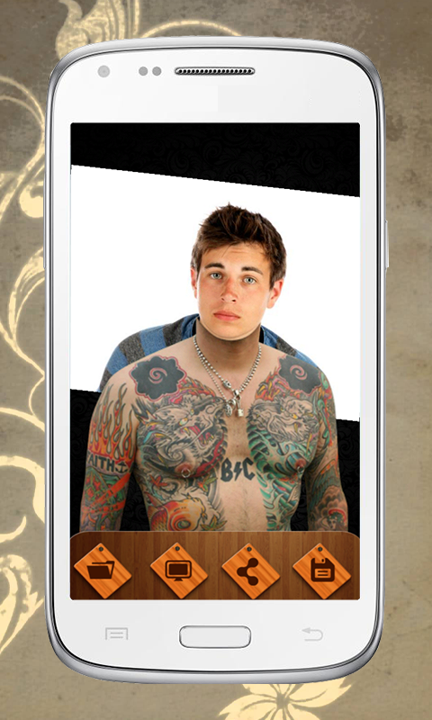 Android Tattoo Photo Editor