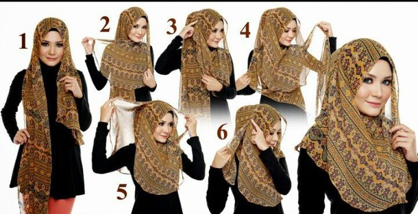 Hijab Fashion Suit