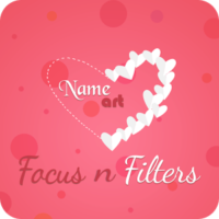 Focus N Filter – Name Art